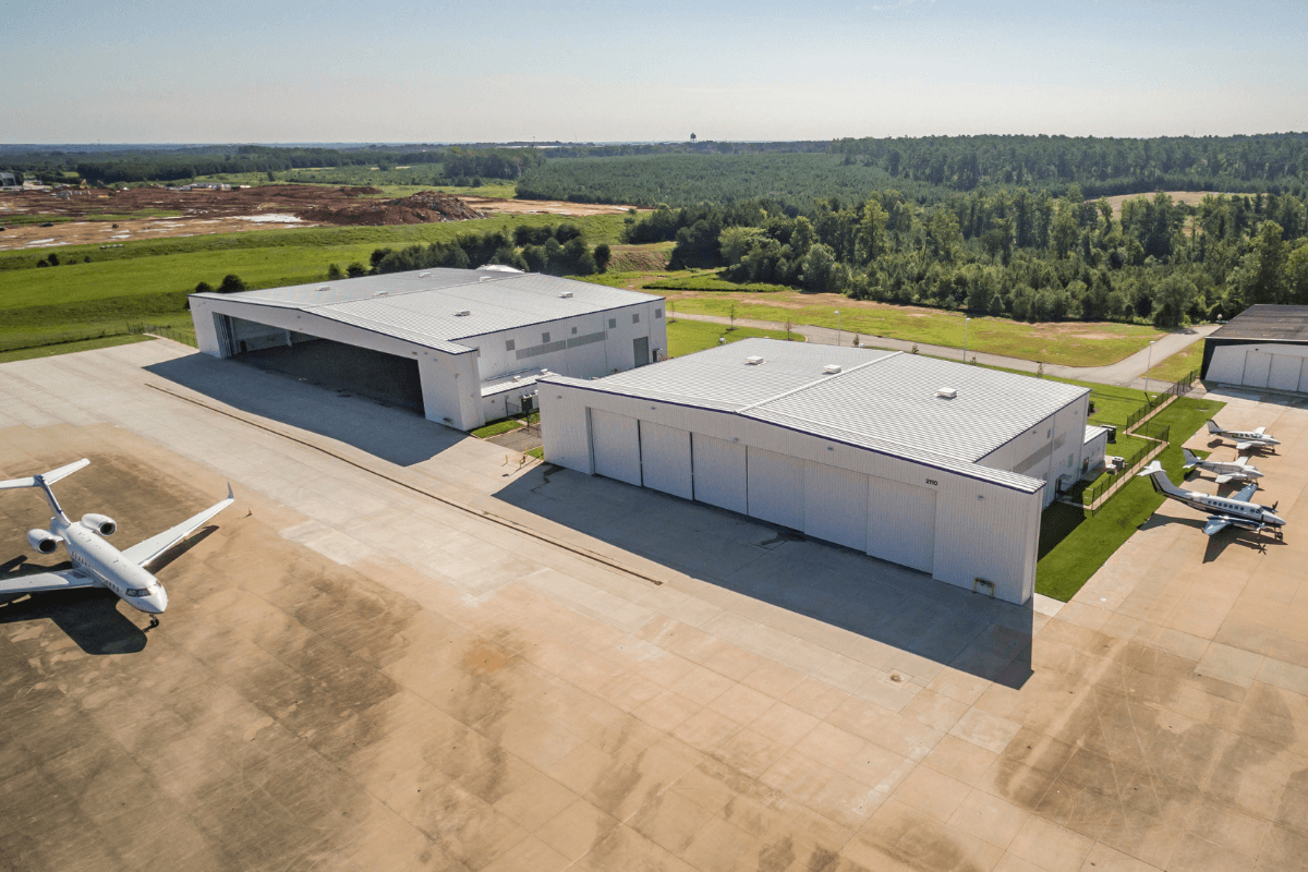 Project Completed: GSP International Airport Hangars